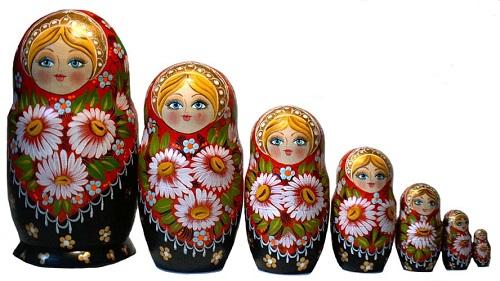 русские национальные сувениры