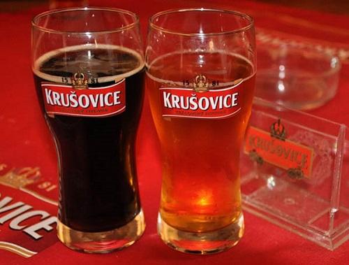 пиво темное и светлое