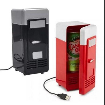 мини-холодильник для напитков на usb
