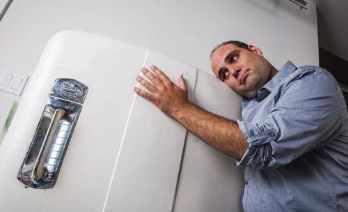 неудачная перевозка холодильника