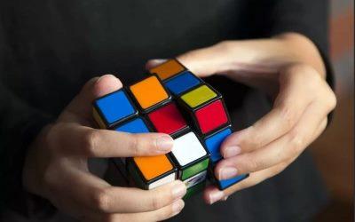 собираем кубик рубик 3х3